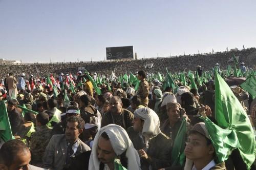 الشعارات الطائفية تغزو احتفالات الحوثيين المزعومة بالمولد النبوي