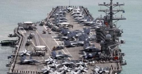 حاملة الطائرات الأمريكية تصل إلى هونج كونج