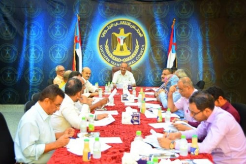 الأمانة العامة للمجلس الانتقالي تناقش الاستعدادات لذكرى الاستقلال