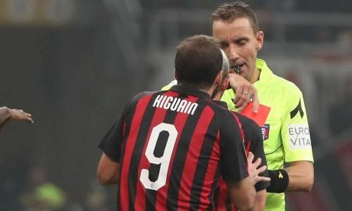 ميلان الإيطالي يؤكد غياب هيجواين عن مباراة لاتسيو