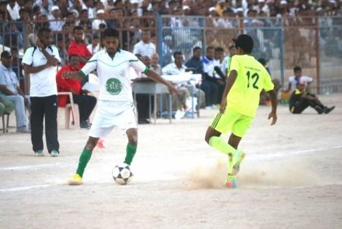 القطن يتأهل لدور الثمانية في بطولة كأس حضرموت على حساب «البرق»