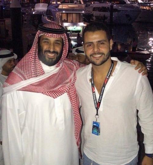 صورة ولي العهد السعودي ومحمد خاشقجي تنفي أكاذيب الجهات المعادية