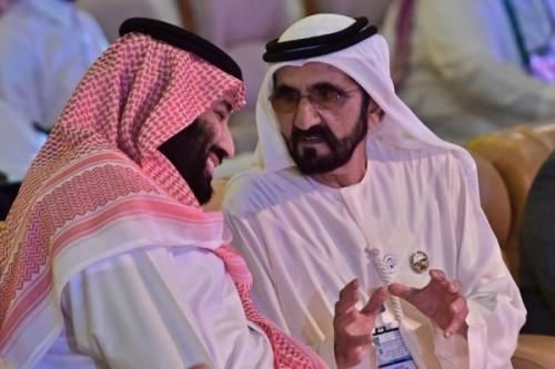 شاهد.. قصيدة مديح من حاكم دبي ترحيباً بولي العهد السعودي