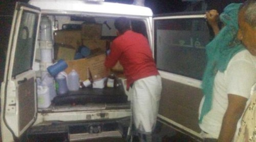 تزويد مديرية طور الباحة بأدوية الطوارئ لإسعاف المقاتلين