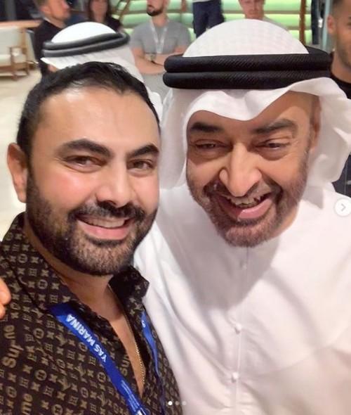 تشرفت بلقاء قائد.. هكذا عبر الفنان محمد كريم عن سعادته بمقابلة الشيخ محمد بن زايد