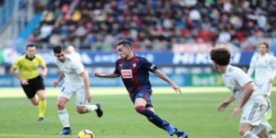 ريال مدريد يسقط أمام إيبار بثلاثية