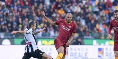 أودينيزي ينتزع فوز قاتل من روما في الدوري الإيطالي