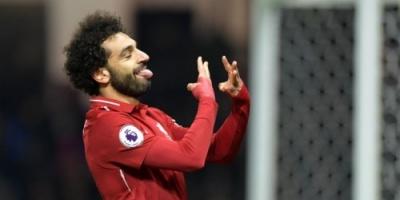 محمد صلاح يسجل هدف ليفربول الأول في شباك واتفورد