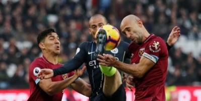 مانشستر سيتي يواصل تصدر الدوري الإنجليزي بالفوز على وستهام 4-0
