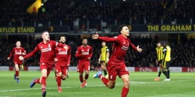 بقيادة صلاح ليفربول يفوز على واتفورد 3-0