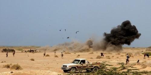 بدعم من مقاتلات التحالف.. مقتل 20 حوثيًا في البيضاء