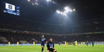 إنترميلان يعزز تواجده في المركز الثاني في الدوري الإيطالي