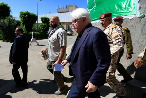 غريفيث يلتقي مسؤولين بالحكومة اليمنية في الرياض الأثنين