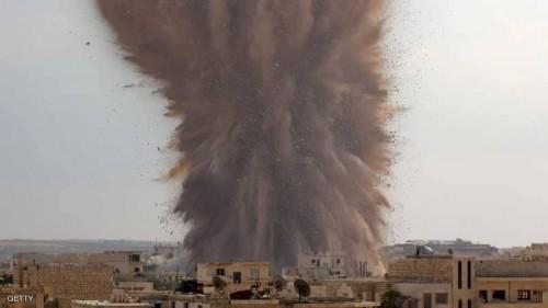 مصرع 9 في قصف القوات السورية لإدلب