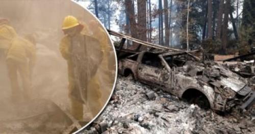 ارتفاع حصيلة ضحايا حرائق كاليفورنيا إلى 87 قتيلا