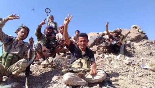 تقدم جديد لقوات الجيش في مقبنة بتعز