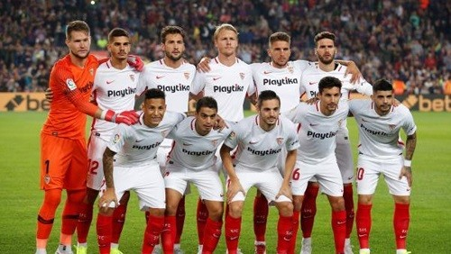 إشبيلية يتصدر الدوري الإسباني بالفوز على بلد الوليد