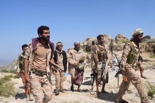 قوات الجيش تحرر قرى جديدة في رازح