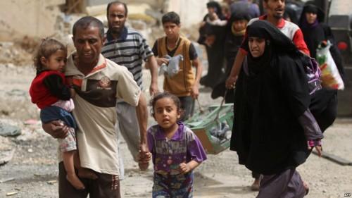عودة 90 عائلة عراقية نازحة إلى جنوب الموصل