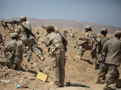 هجوم للجيش على مواقع الحوثيين في لحج وهذه ضحايهم