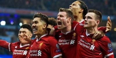 ليفربول بالزي الأحمر أمام باريس سان جيرمان في دوري أبطال أوروبا