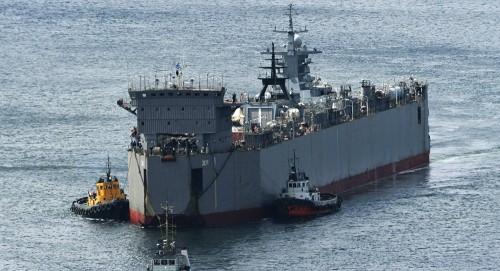 """الطراد الروسي """"جرومكي"""" يستعد لانضمامه لأسطول المحيط الهادئ"""