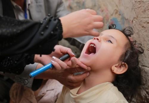 تطعيم 5 ملايين طفل.. حملة ضد شلل الأطفال في اليمن