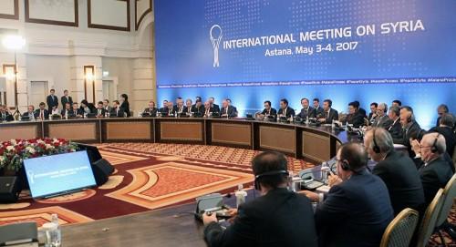 استانة تستضيف جولة جديدة من المباحثات بشأن الأزمة السورية