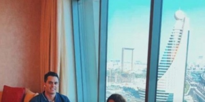 الموسيقار هشام خرما يسافر دبي لتسجيل أحدث أغانيه مع الهندية تانفي شاه