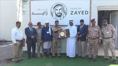 محافظو لحج وأبين والضالع يكرمون ممثل الهلال الأحمر الإماراتي بعدن (صور)
