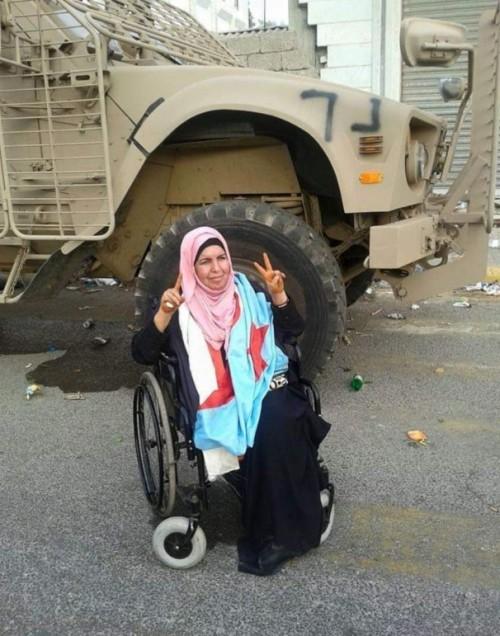 الصوفي ينعي الناشطة الجنوبية زهراء صالح
