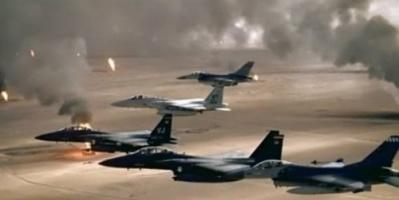 طيران التحالف يحلق في سماء صنعاء