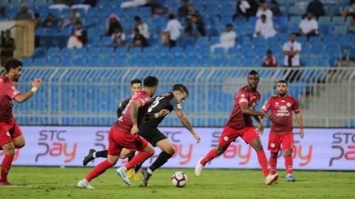 الشباب السعودي يتعادل مع الاتفاق 2-2 في الدوري
