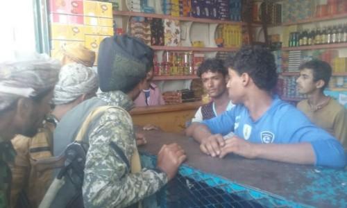 حملة أمنية لضبط التجار المخالفين في أبين