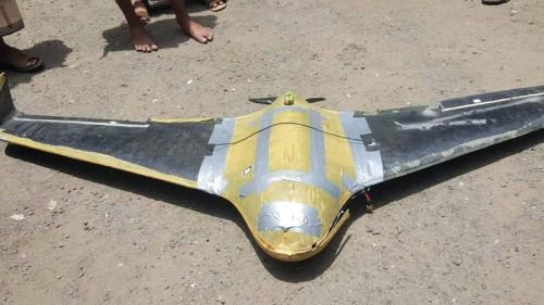 إسقاط طائرة مسيرة للحوثيين بالبيضاء