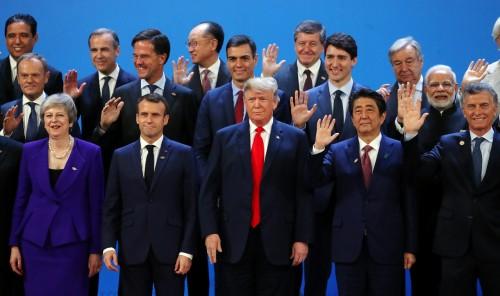انطلاق أعمال قمة مجموعة العشرين