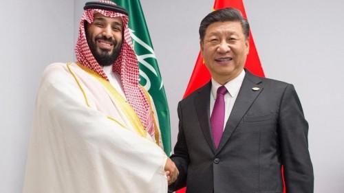 ولى العهد السعودي يلتقي بالرئيس الصيني على هامش قمة العشرين