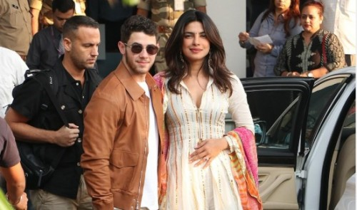 """تفاصيل حفل زفاف الممثلة الهندية بريانكا تشوبرا ونيك جوناس """"صور"""""""