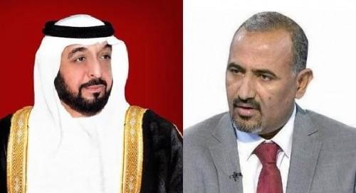 اللواء عيدروس الزبيدي يهنئ القيادة الإماراتية باليوم الوطني الـ٤٧