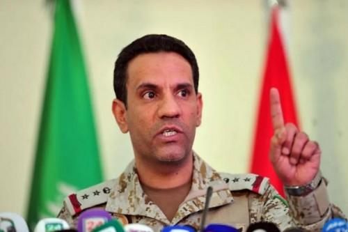 التحالف يعلن إلتزامه بتدمير القدرات النوعية للحوثي