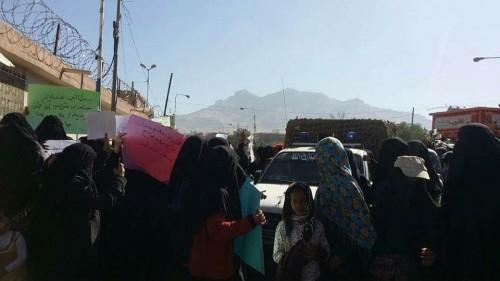 """مناصرات """"صالح"""" في مصيدة اعتقالات الحوثي بصنعاء"""