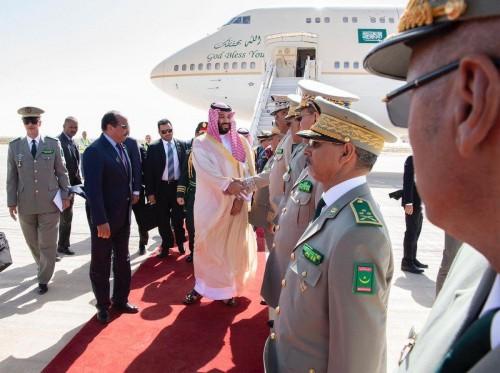 ولي العهد السعودي يصل الجزائر في زيارة ليومين