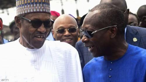 الرئيس النيجيري يخرج عن صمته وينفي وفاته