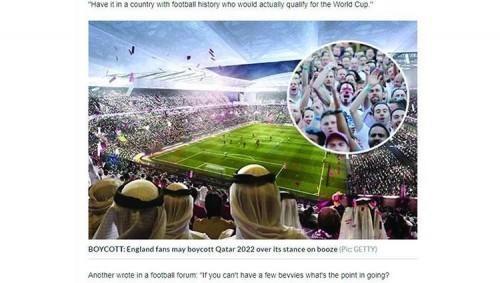 دعوات في انجلترا لمقاطعة مونديال 2022 في قطر.. تعرف على السبب