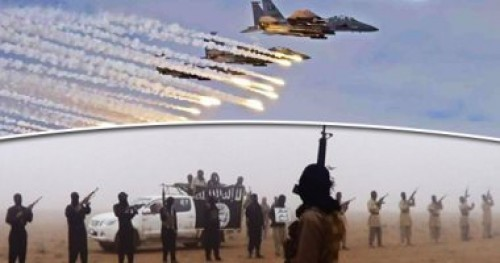 طائرات حربية للتحالف تستهدف قيادي داعشي في سوريا