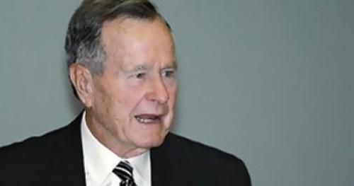 """حفل تأبين لـ""""بوش"""" الأب قبل نقل نعشه إلى واشنطن"""