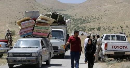 مصادر: مغادرة 28 ألف سوري الأراضي الأردنية