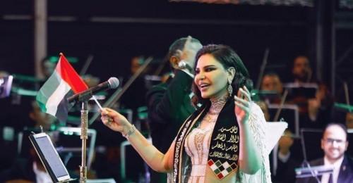 """""""العين صابتني ورب العرش نجاني"""".. أحلام تروي ما حدث معها بحفلتها الغنائية الأخيرة"""