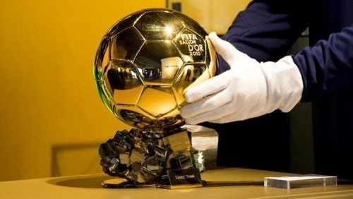 الكرة الذهبية تتواجد في مران ريال مدريد