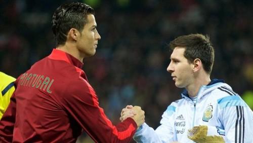 ميسي ورونالدو وجها لوجه على ملعب ريال مدريد